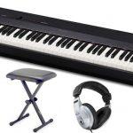 Klawiatura Casio jest stopniowana, symulując charakterystykę fortepianu