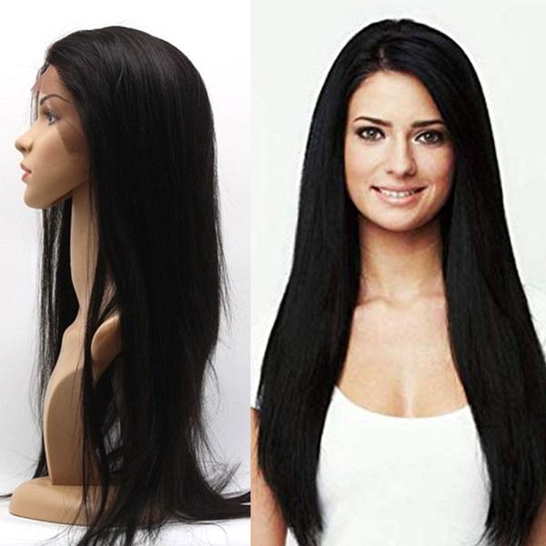 Czarna peruka