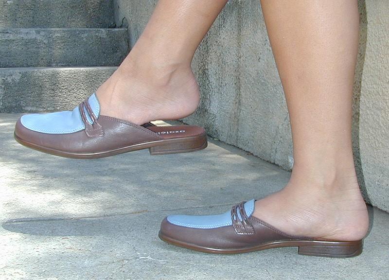 Damskie buty muły