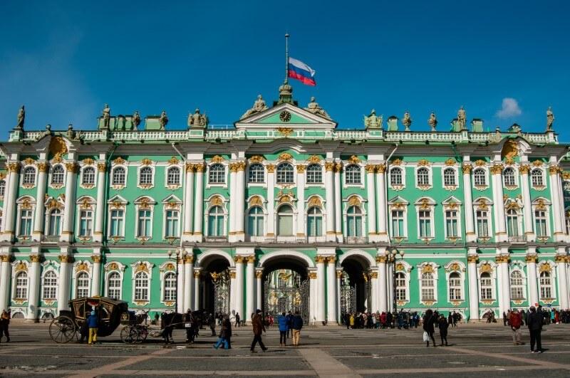 Ermitaż - Sankt Petersburg