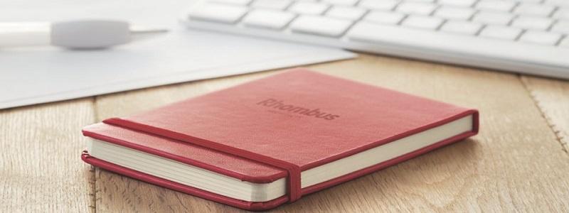 Upominkami promocyjnymi: notatnik